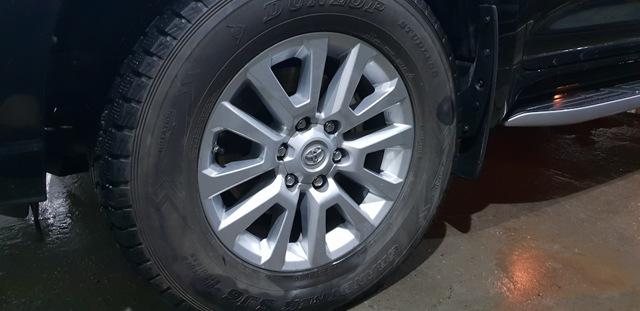 Шины на Тойота Прадо 150: как выбрать, размеры, давление
