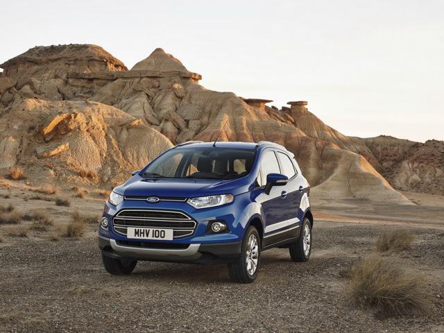 Комплектации Форд ЭкоСпорт: технические характеристики