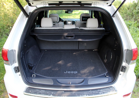 Комплектации Джип Гранд Чероки: технические характеристики