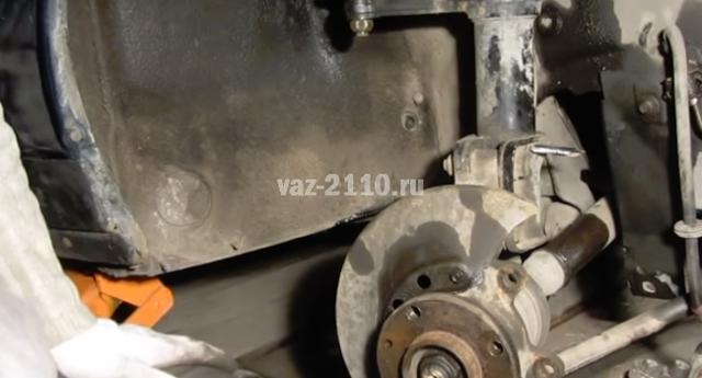 Тормозные диски на ВАЗ 2110: выбор и замена