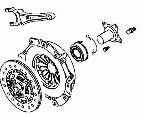 Сцепление на Митсубиси Лансер 9: замена своими руками