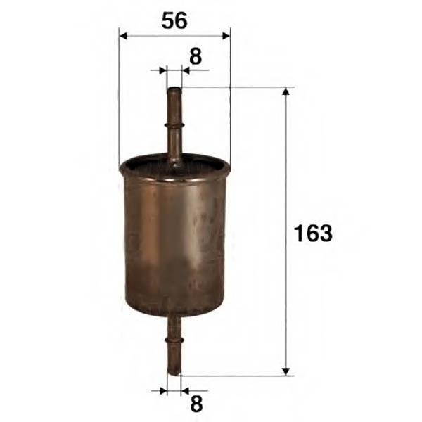Топливный фильтр Лада Калина: описание, замена