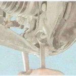Привод на Шевроле Круз: замена внутреннего шруса