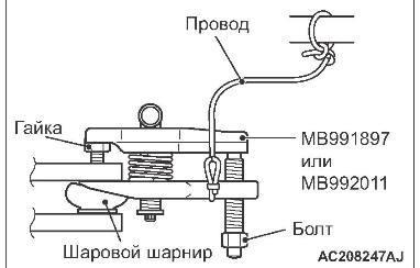 Пыльник шруса на Митсубиси лансер 10: замена