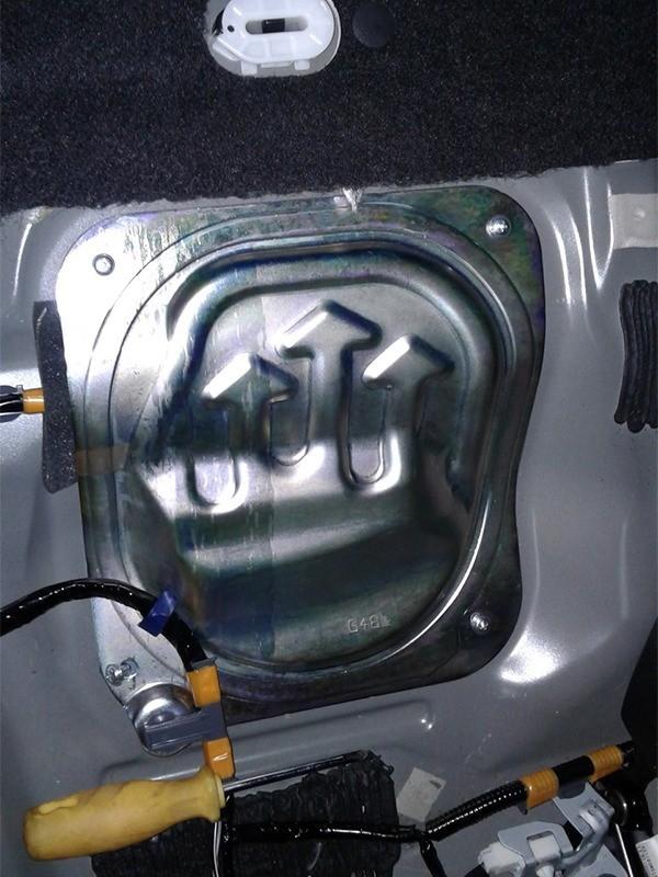 Топливный фильтр на Мазда 6: где находится, замена