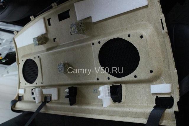 Магнитола Тойота Камри 40: установка, ремонт, замена головного устройства