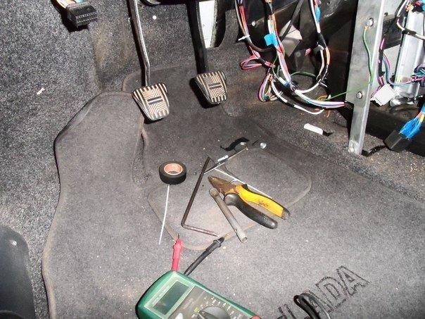 Педали на Шевроле Круз: замена педали тормоза и газа