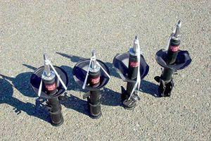 Стойка амортизатора на Киа Спектра: выбор и замена