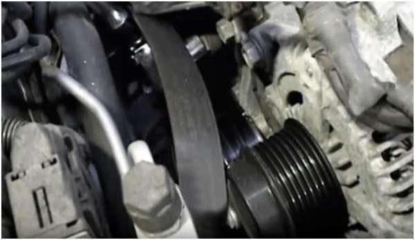 Генератор и ремень на Тойота Камри 40: как снять, заменить
