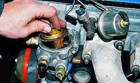Датчики температуры на двигателях 402, 405, 406 и 409: замена
