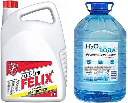 Феликс как антифриз нового поколения: особенности, технические характеристики и состав охлаждающей жидкости
