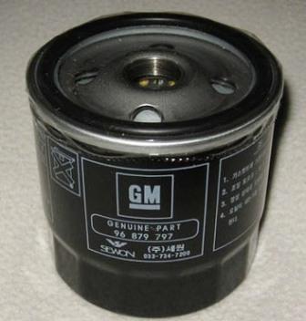 Масляный фильтр на Шевроле Лачетти: замена масла