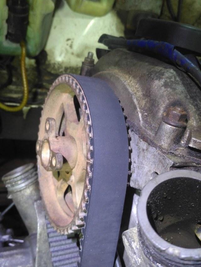 Ремень ГРМ на двигатель М40: замена своими руками