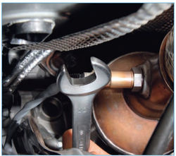 Датчик кислорода на Форд Фокус 2: где находится, замена