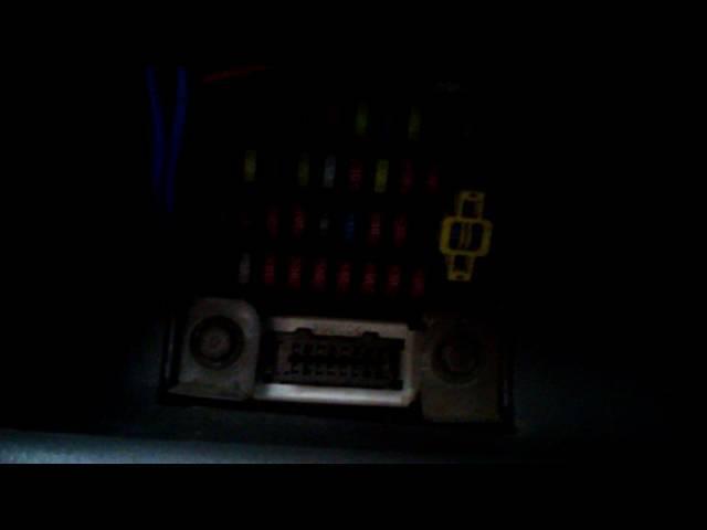 Предохранители Киа Сид: где находятся, замена