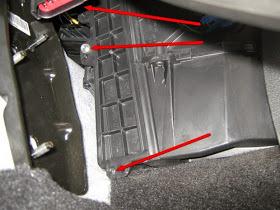 Салонный фильтр Форд Мондео 4: где находится, замена