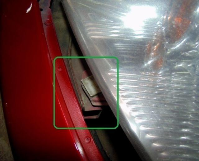 Передний бампер на Митсубиси Лансер 9: как снять, рестайлинг