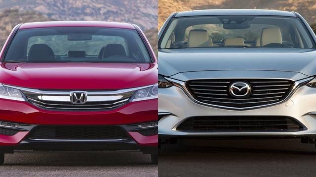 Мазда 6 или Хонда Аккорд 7: сравнение, что лучше выбрать