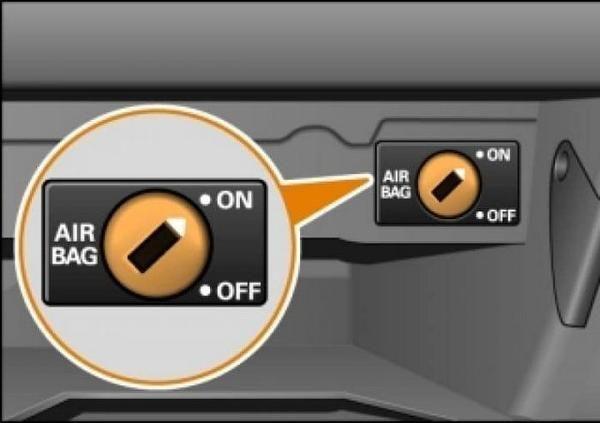 Подушка безопасности Тойота Камри 40: как отключить