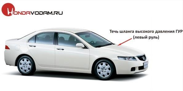 Капот на Хонда Аккорд 7: замена, как открыть