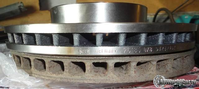 Диски на Тойота Королла 120: размеры, замена суппортов