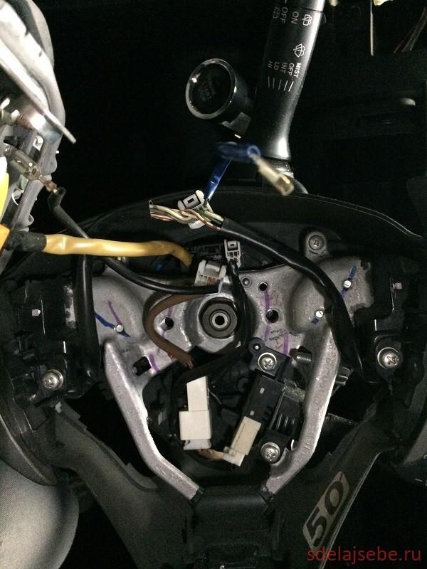 Руль на Тойота Королла 150: замена на мультируль