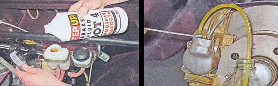Тормозная жидкость на ВАЗ 2107: выбор, замена
