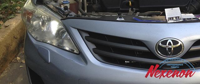Фары и фонари на Тойота Королла 150: замена
