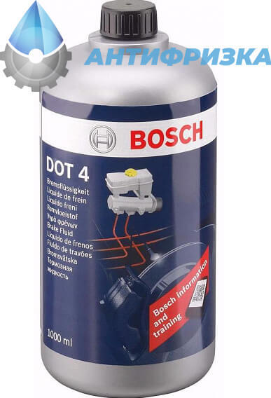 Тормозная жидкость bosch: состав, отзывы владельцев