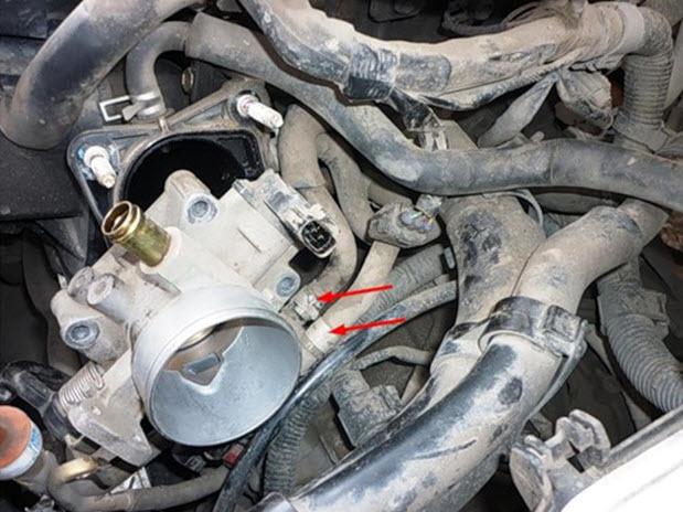 Дроссельная заслонка на Тойота Королла 120: как почистить