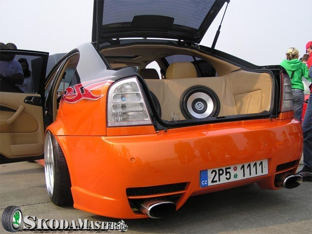 Тюнинг Шкода Октавия А7 своими руками: салона, двигателя