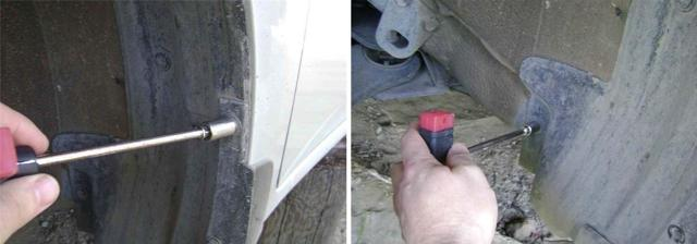 Подкрылок на Тойота Королла 150: как снять крыло