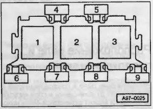 Стартер Ауди А4 Б5: где находится, как снять, замена