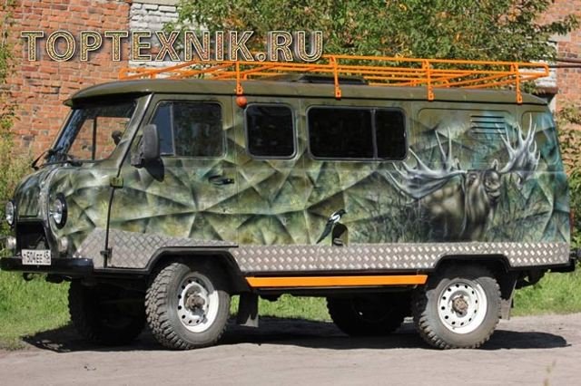 Тюнинг УАЗ Буханка своими руками: двигателя, салона, подвески