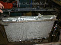 Вентилятор радиатора на Тойота Камри 40: заменить