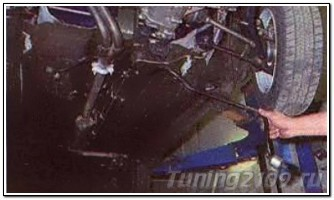 Стойки стабилизатора на ВАЗ 2110: выбор и замена