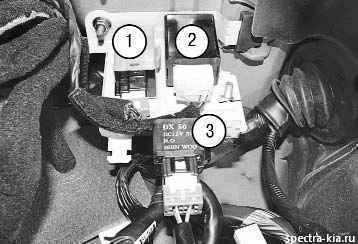 Предохранители Киа Спектра: где находятся, замена