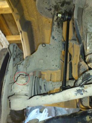 Шаровая опора на Тойота Королла 120: замена