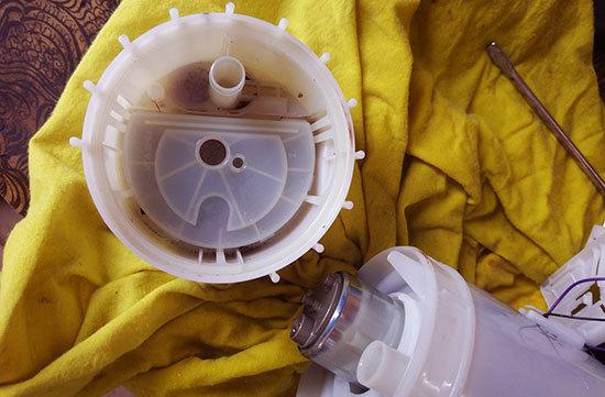Топливный фильтр Лада Веста: где находится, замена