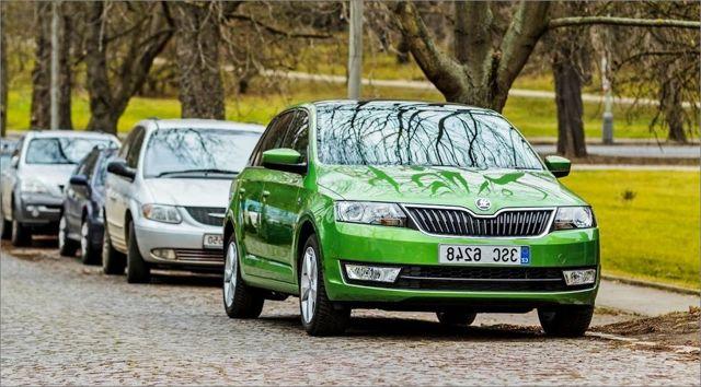 Клиренс Шкода Рапид: проставки для увеличения дорожного просвета