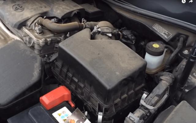Воздушный фильтр на Тойота Камри 40: выбор и замена