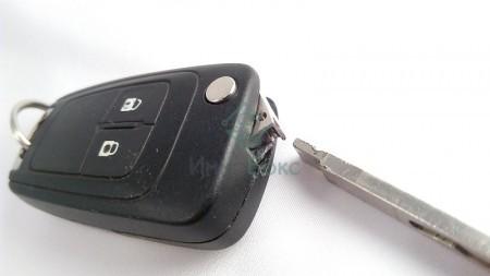 Ключ и иммобилайзер Шевроле Круз: как разобрать, как открыть без ключа