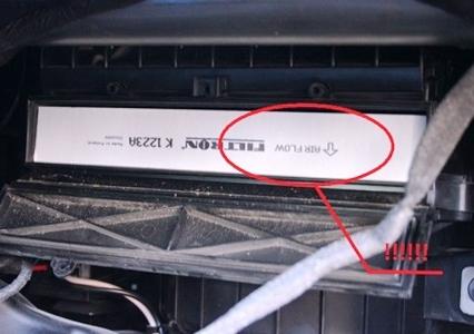 Салонный фильтр на Опель Астра j: где находится, замена