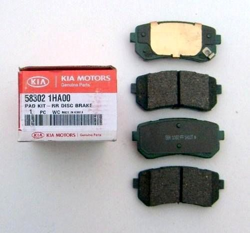 Тормозные колодки на kia ceed: выбор и замена