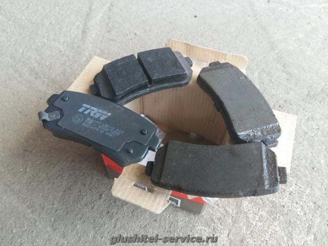 Тормозные колодки на hyundai ix35: выбор и замена