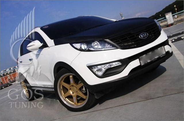 Тюнинг Киа Спортейдж 3 своими руками: салона, колес, двигателя