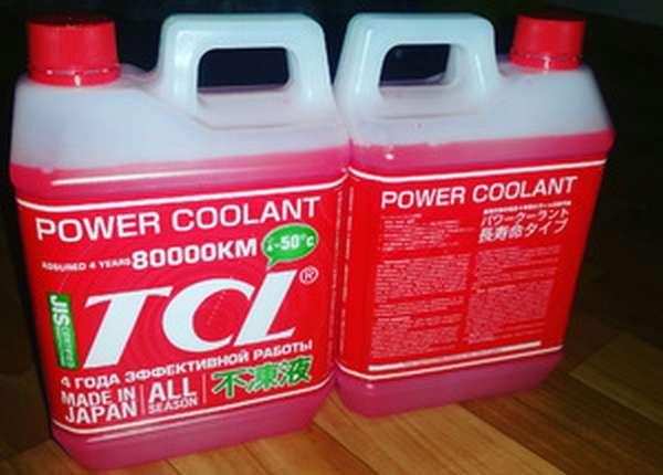 Японский антифриз tcl: характеристика средств llc (long life coolant) и pc