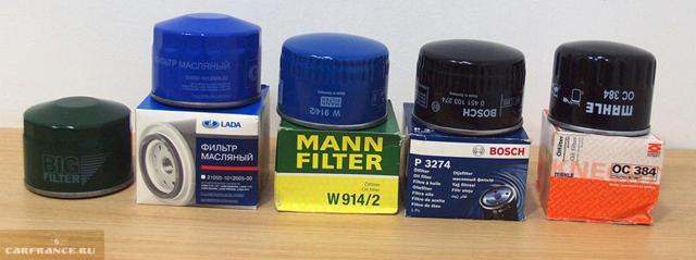 Масляный фильтр ВАЗ 2101: оригинал, аналог, как отличить подделку, замена