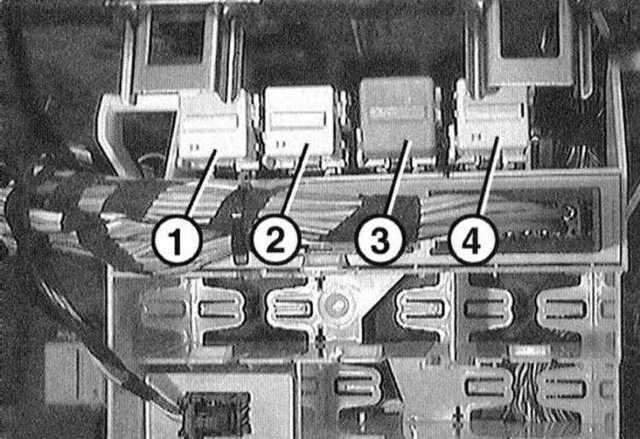 Предохранители БМВ e36: где находятся, замена