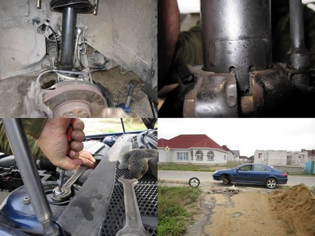 Стойка амортизатора на Пежо 2006: выбор и замена